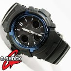 G-SHOCK 腕時計 メンズ 時計 デジアナ デジタルアナログ 電波ソーラー タフソーラー 海外モデル Gショック AWG-M100A-1A 新品 無料ラッピング可
