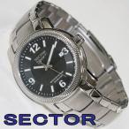 【訳あり特価】 セクター 腕時計 SECTOR クオーツ アナログ表示 メンズ腕時計 ブラック文字盤 R3253139025