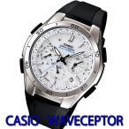 カシオ ウェーブセプター ソーラー電波腕時計 CASIO WAVECEPTOR  世界6局の電波を受...