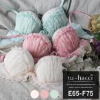 ブラ ショーツ チュールローズアンダーレースブラ&ショーツセット3color ミント ピンク ベビーピンク グラマーサイズ tu-hacc i