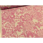 布と手芸 つばめやで買える「キャシー中島(キャシーマム)シーチング トライバル ピンク 安い おしゃれ 布地 かわいい 生地 ハワイアン」の画像です。価格は154円になります。