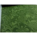 布と手芸 つばめやで買える「キャシー中島(キャシーマム)シーチング トライバル グリーン 安い おしゃれ 布地 かわいい 生地 ハワイアン」の画像です。価格は154円になります。