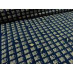 リップル 魚漢字&さかな ネイビー お気に入りシリーズ   安い おしゃれ 布地 かわいい 生地  ゆかた 浴衣 じんべい 甚平