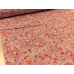 Yahoo!布と手芸 つばめやサザンクロス 和柄ドビー 桜さくら小柄 パープル 安い おしゃれ 布地 かわいい 生地