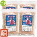 4袋セット・送料無料 アンデスの岩塩 粒(つぶ) 紅塩 500g×4個 食塩