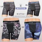 三角褲 - メンズワコール GX6006 ブロスBROS クロスウォーカー・ジャストウェスト ダブルエアスルー 前開きタイプ(紳士用インナー)WEB限定25%OFF