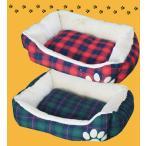 ペットハウス   あったかぬくぬく♪ 【先染めタータンチェック】 ペットソファーベット  ふっかふか 犬 猫用ベッド きなこ社長のおすすめペットグッズ
