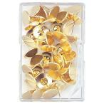文具の月島堂で買える「ato6433-8378 足なが二重画びょう 平タイプ 約40本入 サイズ 針長11mm ミツヤ NL-01」の画像です。価格は88円になります。