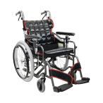 自走用車いす KM20-40SB-LO 低床タイプ / 座幅40cm No.19×No.85取寄品【介護福祉用具】