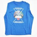 DKNY / ダナキャラン NEW YORK 5Borough L/S Tシャツ BIG SIZE ブルー