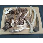天然素材 北海道の鹿の角B品 サイズはバラバラです 折れたり割れたりしている角の1キロ売犬のおやつナイフ材等に 愛犬のおやつ 犬のエサ(鹿角 犬の餌