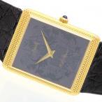 piaget 手巻 Cal.9P 動作保証6ヵ月 腕時計 ブルー