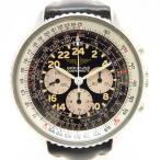 ブライトリング ナビタイマー コスモノート アンティーク・ヴィンテージ メンズ 81600F レマニアムーブ トリチウム夜光 クロノグラフ 24時間表示