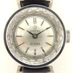 オメガ デビル アンティーク ヴィンテージ レディース 1960年代製造 K18WG カットガラス デヴィル デ・ヴィル