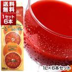 【送料無料】ブラッドオレンジジュース 1L×6本 オルトジェル 【冷凍食品】[冷凍食品のみ同梱可]