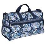 レスポートサック LeSportsac ボストンバッグ ポーチ付 7185 E142 NIGHT BLOOMS BLUE Large Weekender ラージウィークエンダー ボストンバッグ 旅行用かばん