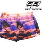 フィフティーファイブディーエスエル 55DSL ディーゼル サーフトランクス メンズ 総柄 メンズ水着 男性水着 海パン ビーチウエア スイムウエア BECER