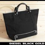 ディーゼルブラックゴールド DIESEL BLACK GOLD トートバッグ 鞄 メンズ レディース 男女兼用 レザー使い キャンバス生地 大容量 VASKET-TB