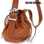 ディーゼル DIESEL ショルダーバッグ 鞄 レディース 牛革 本革 ソフトレザー 巾着 斜め掛けバッグ GALENA