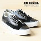 ディーゼル DIESEL スニーカー 靴 レディース 牛革 本革 レザー スウェード スエード 切替 ローカット MARCY W