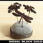 ディーゼルブラックゴールド DIESEL BLACK GOLD ブローチ メンズ 針山風 PINSPIL