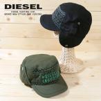 ディーゼル DIESEL キャップ 帽子 メンズ ロゴ刺繍 ウール イヤーフラップ CHARK