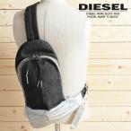 ディーゼル DIESEL ボディバッグ 鞄 メンズ デニム生地 デニム素材 ペイント 斜めがけ ワンショルダーバッグ ショルダーバッグ D-BACK