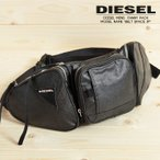ディーゼル DIESEL ボディバッグ 鞄 メンズ 牛革ジップチャーム 微光沢 ウエストポーチ ヒップバッグ BELT SPACE JP