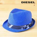ディーゼル DIESEL ペーパーハット 帽子 メンズ レディース 男女兼用 ボタニカル柄リボン 中折れ帽子 CARANX