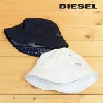 ディーゼル DIESEL バケットハット 帽子 メンズ レディース 男女兼用 無地 シンプル ペイズリー柄裏地 コットン クルーハット CAYSELYX