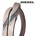 ディーゼル DIESEL レザーブレスレット メンズ 牛革 本革 ロゴ 二重巻き L-BRACE