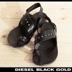 ディーゼルブラックゴールド DIESEL BLACK GOLD レザーサンダル メンズ 本革 リアルレザー スタッズ 親指リング ANIBAL-L