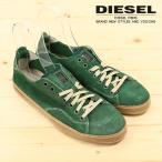 ディーゼル DIESEL スニーカー 靴 メンズ 牛革 本革 リアルレザー スウェード スエード ローカット VNDER PRESSURE