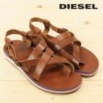 ディーゼル DIESEL グラディエーターサンダル 靴 メンズ ラバーソール 本革 レザー JUAN