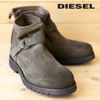 ディーゼル DIESEL ショートブーツ 靴 メンズ 本革 レザー スウェード エンジニアブーツ DEGOLD