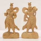 〜木彫り 仏像 仁王像(金剛力士)〜一刀彫 / 素材:香榧(こうかや)