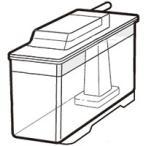 シャープ部品:給水タンク/2014210104 冷蔵庫用