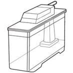 シャープ部品:給水タンク/2014210106 冷蔵庫用