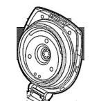 象印部品:フタセット/628033-08(ブラウンBX)電気まほうびん用