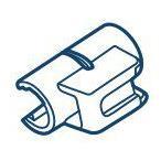 ツインバード部品:すき間ノズルホルダー/790899スティッククリーナー用〔メール便対応可〕
