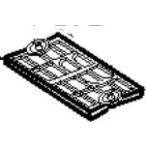 象印部品:カートリッジカバー/BM285043L-01 布団乾燥機用〔メール便対応可〕