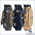 サイコバニー Psycho Bunny GOLF ゴルフ キャディバッグ 9.0型 メンズ 2019新作モデル