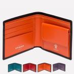 【 ETTINGER エッティンガー】 二つ折り 財布 コインパース付 レザー 皮革 カウハイド カーフ イギリス