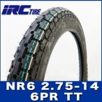 IRC製 タイヤ NR6 2.75-14 6PR HONDA リトルカブ YAMAHA ニュースメイト90