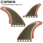 CAPTAIN FIN キャプテンフィン  FUTURE フィン TYLER WARREN TWIN ESP (SINGLE TAB) Twin + Trailer Limited La Especial Collection 送料無料!