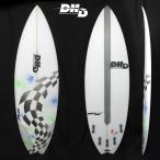 "DHD SURFBOARDS DHD サーフボード ""DOUBLESHOT 5'9"" FCS2 5FIN JAPAN GRASSING 日本工場仕上げ※別途送料3240円〜(地域により変動いたします)"