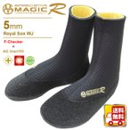 MAGIC マジック サーフブーツ 5mm Royal サーフソックス WJ 信頼のMADE IN JAPAN サーフィン サーフボード 防寒グッズ