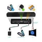 Salute 18-Inch 2.0 Channel Wireless Stereo Bluetooth Mini Sound Bar Speake
