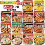 丸美屋 ごはん付きシリーズ 選べる 12個(各3個x4種類)レンジ調理食品