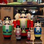 ナットクラッカーリョーシカ マトリョーシカ 人形 雑貨 くるみ割り人形